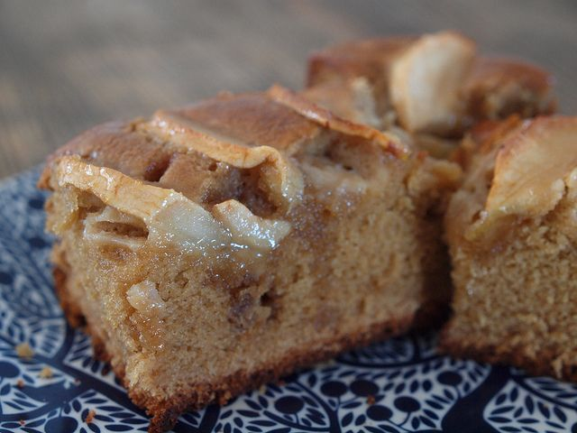 toffee apple tea cake in the thermomix