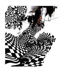Daniel Egneus / Geometric Lady