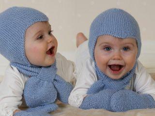 Baby Aviator Hat - Settiin kuuluu: Myssy, kaulahuivi ja lapaset - Free pattern by DROPS Design