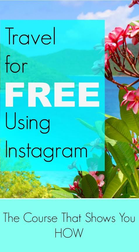 Want to travel more this year? Want to do it for free? Of course you do! Check out my friend Kimberly's Travel for Free Using Instagram course #affiliate