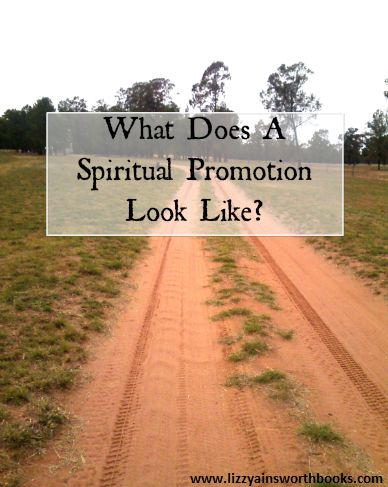 What Does a Spiritual Promotion Look Like