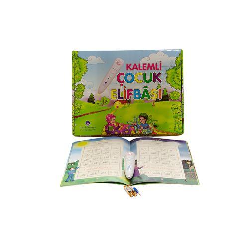 http://www.hediyelimani.com/cocuklar-icin-neseli-elifba-kalemi  Çocuklar İçin Neşeli Elifba Kalemi : 55,50-TL  6 Yaş ve Üzeri için Uygundur. SET İÇERİĞİ •1- Elifba Okuyan Kalem, •2- Kitap-1: Çocuk Elifbası, •3- Kitap-2: Boyama Kitabı, •4- Kur'an Harfleri Çıkartmaları, •5- Kur'ân Harfleri Yapboz Oyunu, •6- Kullanma Kılavuzu, •7- Pil kapağını açmak için küçük tornavida, •8- Kalem Pil  Baskı ve Kargo Ücretsiz   http://www.hediyelimani.com   #hediye #hediyesi #24saat #hediyelik #özel…