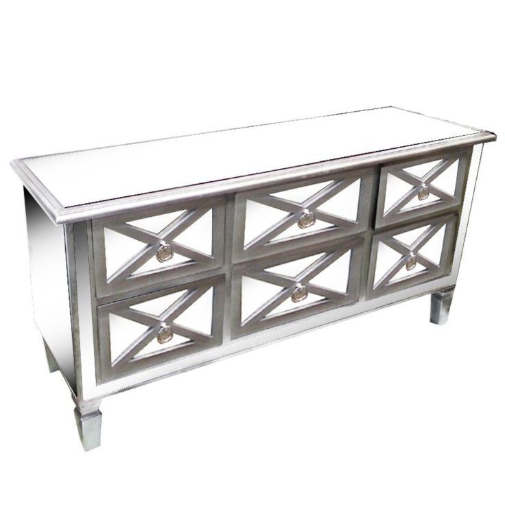 Stylish TV Table Stand - Benzara