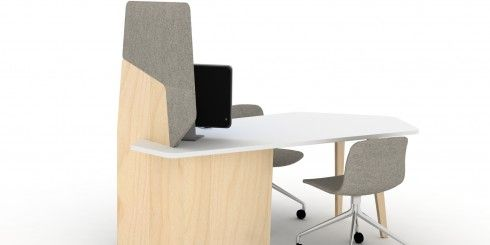 Le comptoir FEELO est un mobilier hybride [trans-genre], à la fois comptoir et bureau. Assis ou débout, le dialogue s'établit autour d'un meuble conçu tout en légèreté et douceur. La finesse de la structure et des pieds rompt avec l'effet barrière des comptoirs conventionnels.