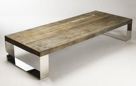 Darren Reclaimed Wood Coffee Table - Tonic Home