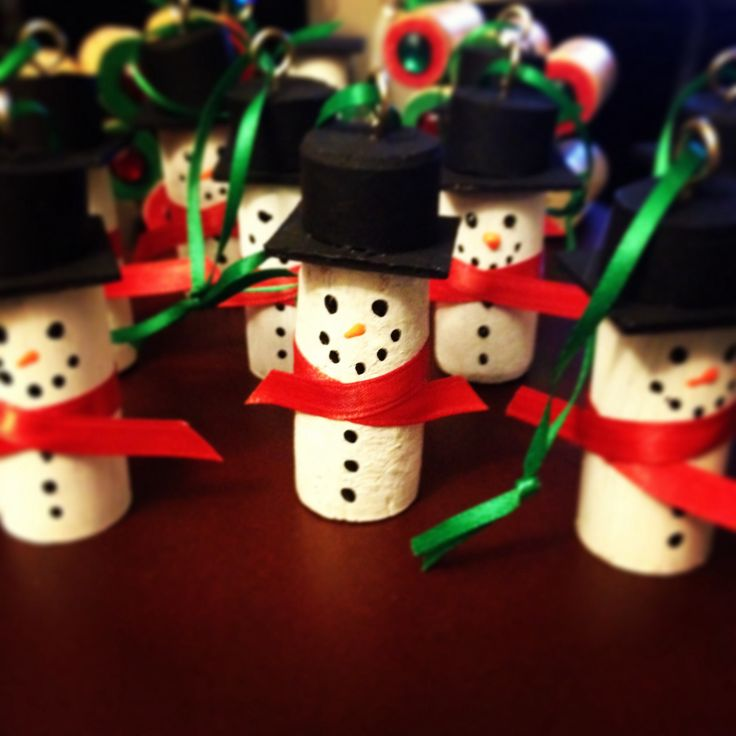 Make Wine Cork Christmas Ornaments Jerusalem House