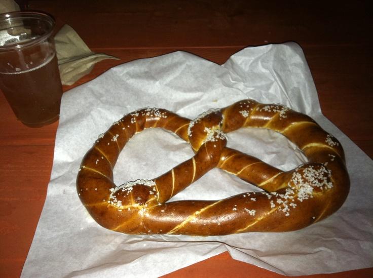 Giant pretzel @ Oktoberfest, Pomona Fair Grounds