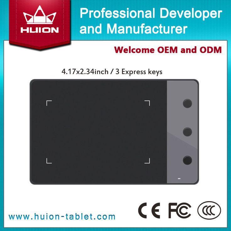 Новый HUION H420 4  x 2.23  профессиональный подпись графические планшеты цифровые таблетки перо USB искусство рисования таблетки черный