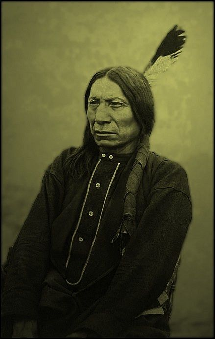 """""""I am poor and naked, but I am the chief of the nation. We do not want riches but we do want to train our children right. Riches would do us no good. We could not take them with us to the other world. We do not want riches. We want peace and love.""""– Chief Red Cloud"""