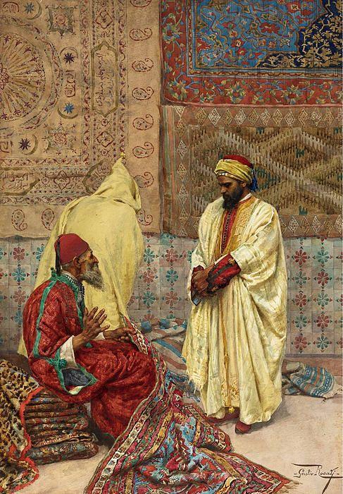 The Carpet Bazaar  Giulio Rosat