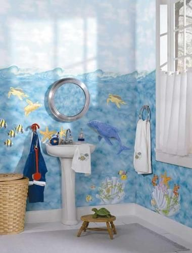 Best 25 sea theme bathroom ideas on pinterest beach - Ocean themed bathroom accessories ...