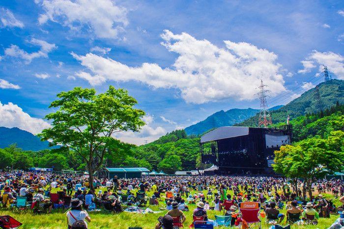 毎夏、苗場スキー場で開催される、日本最大規模の野外ロックフェス「FUJI ROCK FESTIVAL」