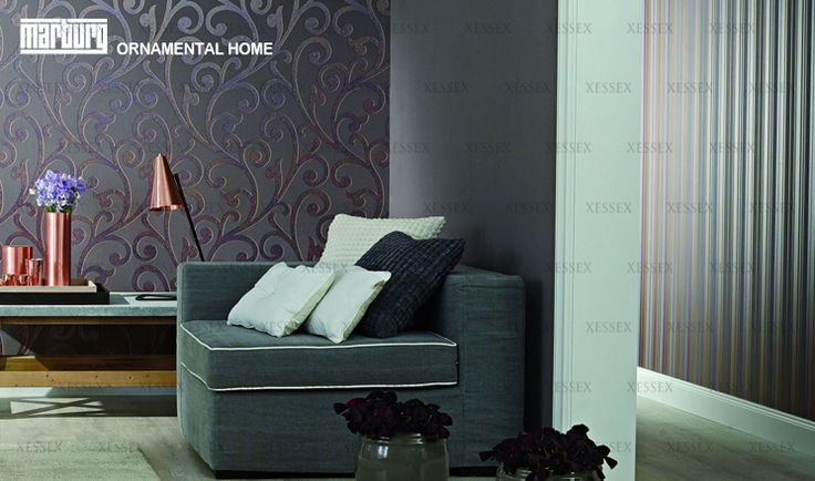 Ornamental Home by Marburg (Visit www.xessex.com.sg for the latest ranges and collections!) #interior #design #Xessex #interiordesign #wallpapers #wallcoverings #GoodDesign #PoshLiving #mylar #mosaic