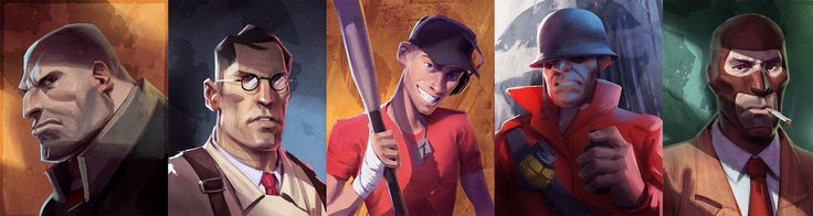 TF2 Comic con Prints, Ben Hale on ArtStation at http://www.artstation.com/artwork/tf2-comic-con-prints