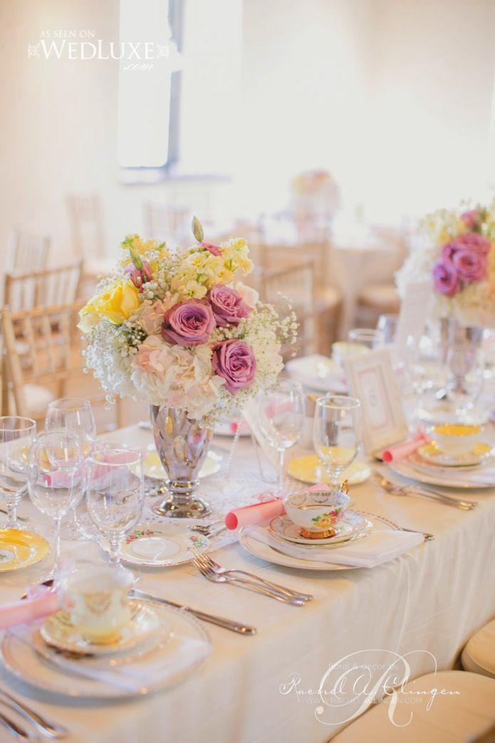 a pretty tea party bridal shower