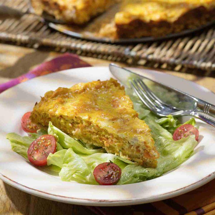 Ziegenkäse-Möhren-Kuchen