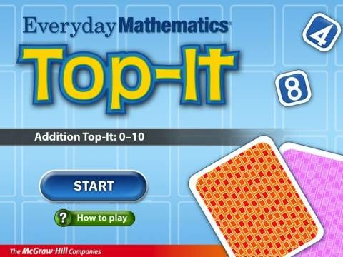 FREE for a limited time! Everyday Mathematics® Addition Top It by McGraw-Hill School Education