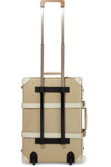 Globe-Trotter - Champagne 21'' Leather-trimmed Fiberboard Travel Trolley - Gold - one size