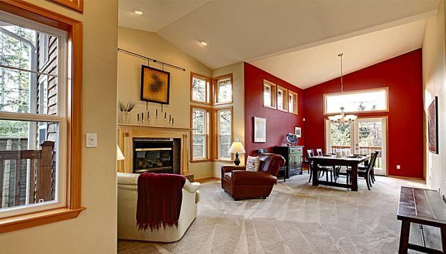 Combinacion de colores para interiores de casas peque as for Ver interiores de casas pequenas