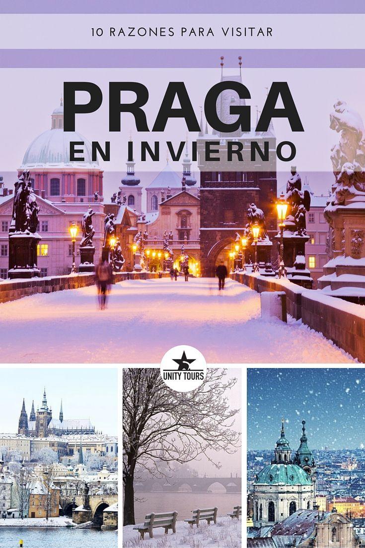 Praga merece ser visitada en cualquier època del año. Además de su belleza inigualable, es muy rica culturalmente, con lo que en cada estación pueden hacerse actividades distintas para disfrutar del viaje. ¡Vengas cuando vengas, Praga no te dejará indiferente!  #RepúblicaCheca #Turismo #Praga #QuehacerEnPraga #Viajar #Viajes