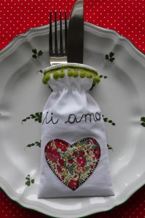Per una tavola speciale a S. Valentino: tutorial