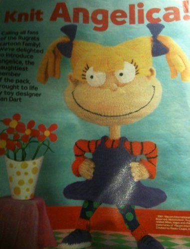 Knit Angelica toy knitting pattern by Alan Dart (woman's weekly magazine pullout) by alan dart, http://www.amazon.co.uk/dp/B00CCP5NBW/ref=cm_sw_r_pi_dp_rFNitb093HJ6Q