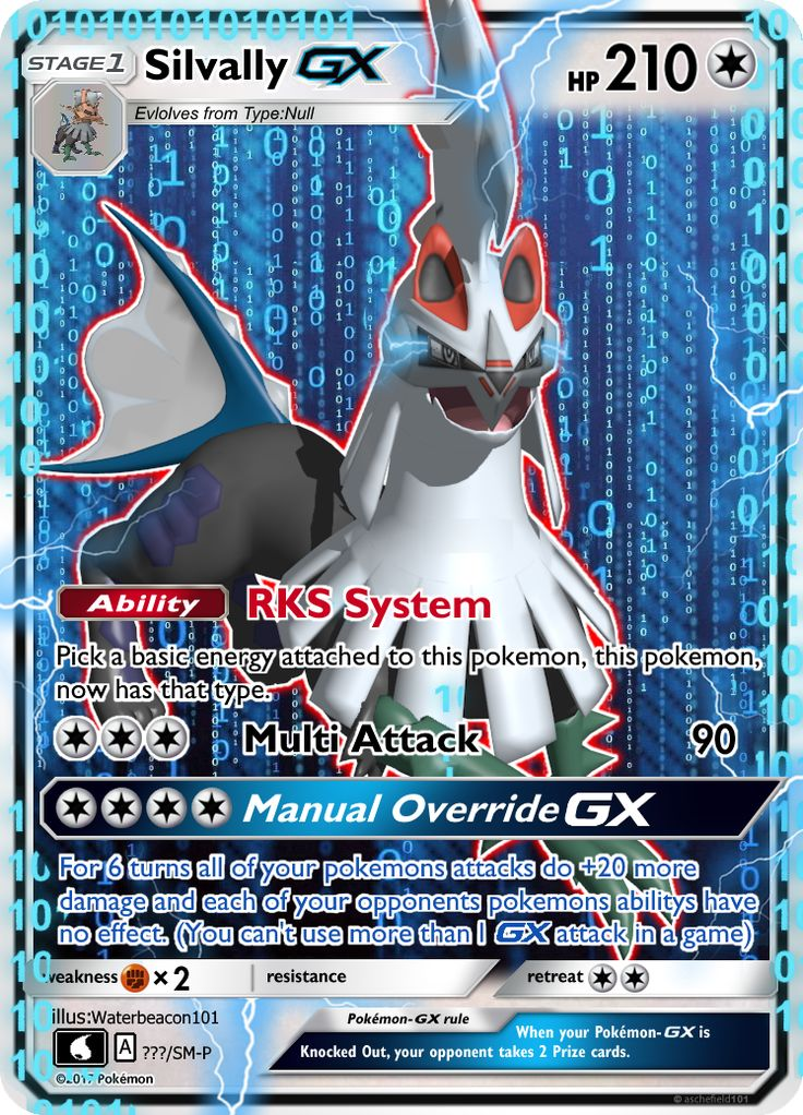 Silvally is one of my favorite pokemon introduced in the 7th generation and has a really awesome backstory. I went through a few GX attacks like oblivion blade and nullifying slash but my friend ma...