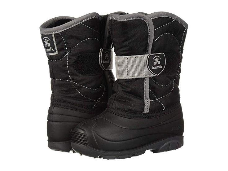 Kamik Kids Snowbug 3 (Toddler) Kid's Shoes Black