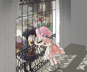 Hyūga Hinata and Haruno Sakura.