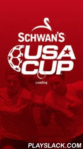 USA CUP - Schwan's  Android App - playslack.com , Schwan's USA CUP International Youth Soccer Tournament, powered by Sport Ngin The Schwan's USA CUP app provides an incredible experience for you to connect and engage with the largest youth soccer tournament in the Western Hemisphere, located in Blaine, Minnesota.Powered by Sport Ngin, noteworthy features of the Schwan's USA CUP app include: - Real-time Schedules, Results and Standings of games during the tournament so you know which teams…