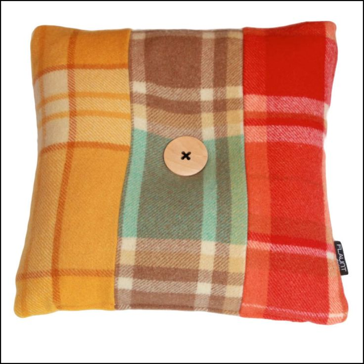 Pure Wool Vintage Blanket Cushions Available From flaunt.com.au