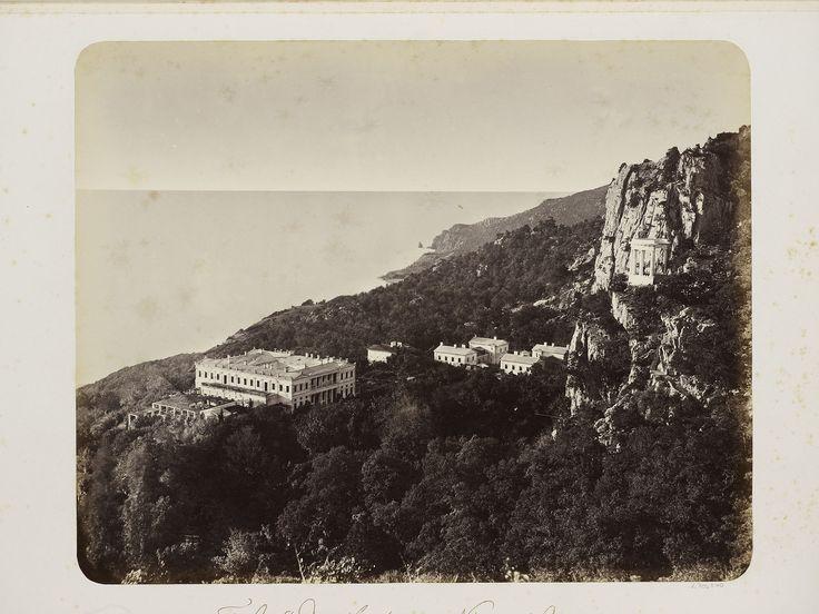 Old photo - Oreanda Palace - Crimea - 1869.