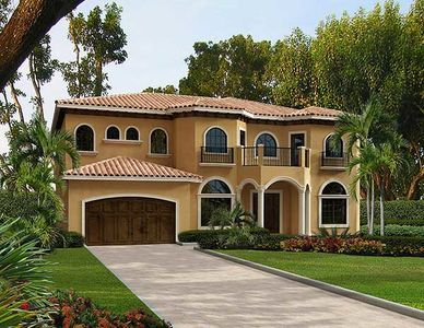 Plan 32236aa Five Bedroom Mediterranean Home Plan Mediterranean House Plans Mediterranean Homes Mediterranean Homes Exterior