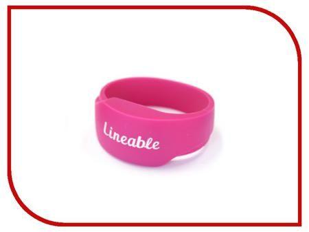 Умный браслет Детский трекер GPS Lineable Smart Band Size M Pink RWL-100PKMD  — 1951 руб. —