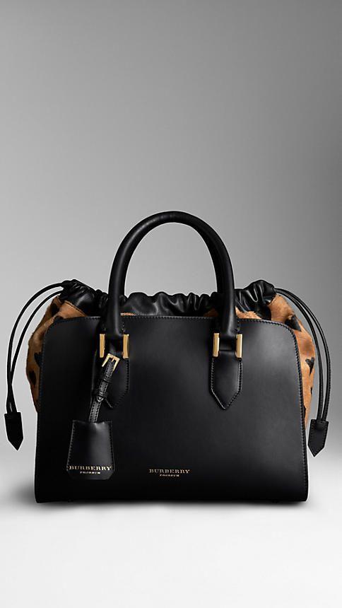 Heart Print Calfskin Bag | Burberry I am so getting this by my Birthday - Sky