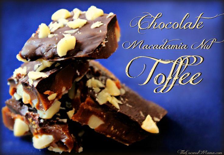 Chocolate Macadamia Nut Toffee
