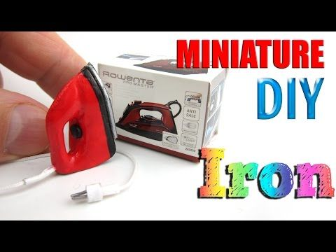 DIY Iron Miniature - YouTube                                                                                                                                                                                 More