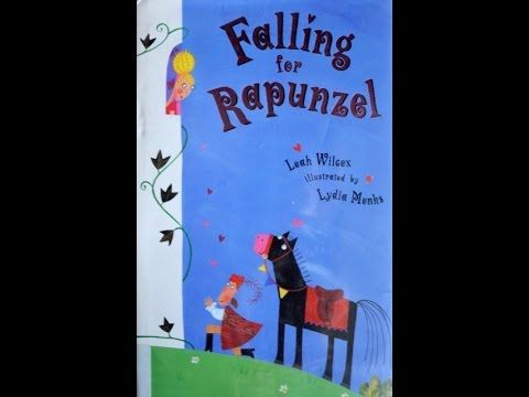 FALLING FOR RAPUNZEL Funny Children's Audio Book Read Aloud, written by Leah Wilcox - YouTube