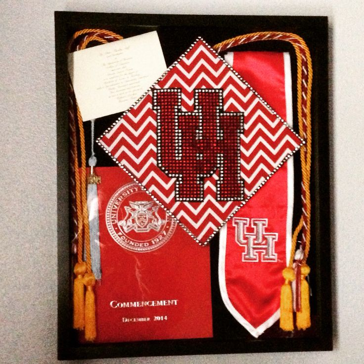 University of Houston graduation memory box!
