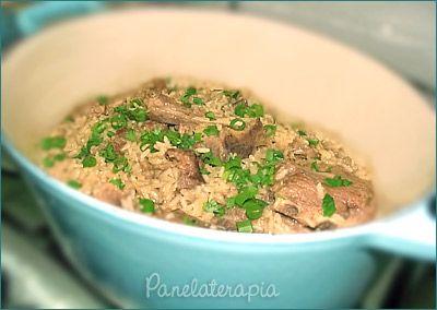 PANELATERAPIA - Blog de Culinária, Gastronomia e Receitas: Arroz com Suã