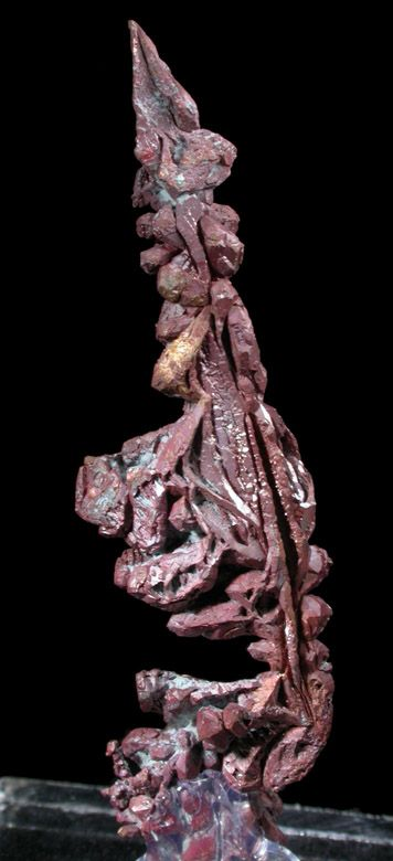 Mineral Specimens: Copper (Spinel-law Twins) from Dzhezkazgan, Karaganda Oblast', Kazakhstan