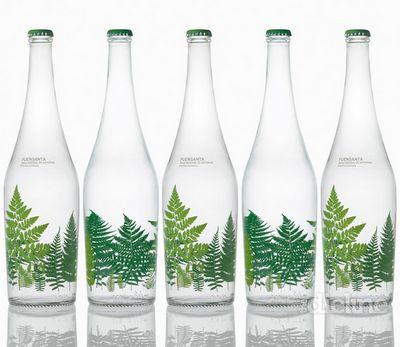 waterWater Bottle, Limited Editing, Sustainable Packaging, Fuensanta, Paty Nuñez, Bottle Packaging, Packaging Design, Bottle Design, Water Packaging