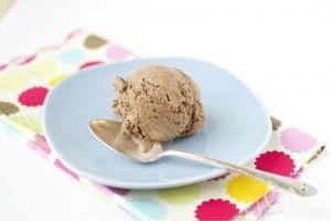 Chocolate coconut milk Ice-cream