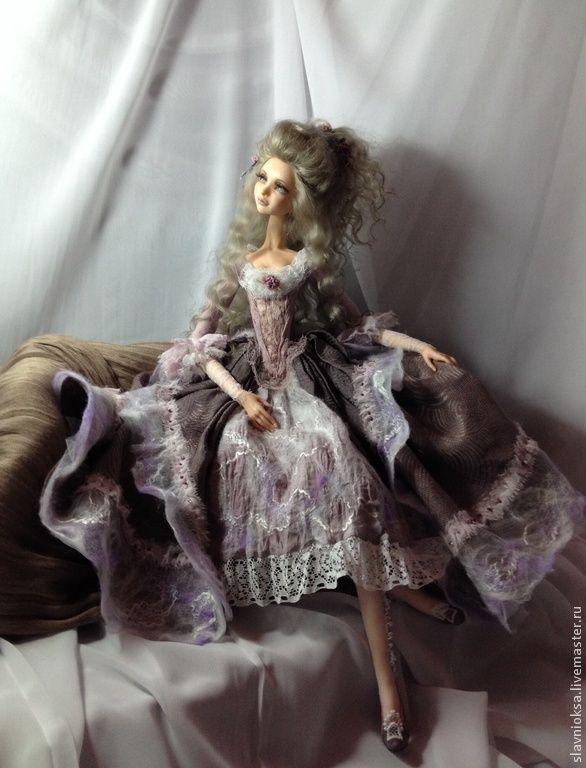 Купить МЕЛОДИЯ НЕЖНОСТИ будуарная кукла - коллекционная кукла, интерьерная кукла, авторская кукла