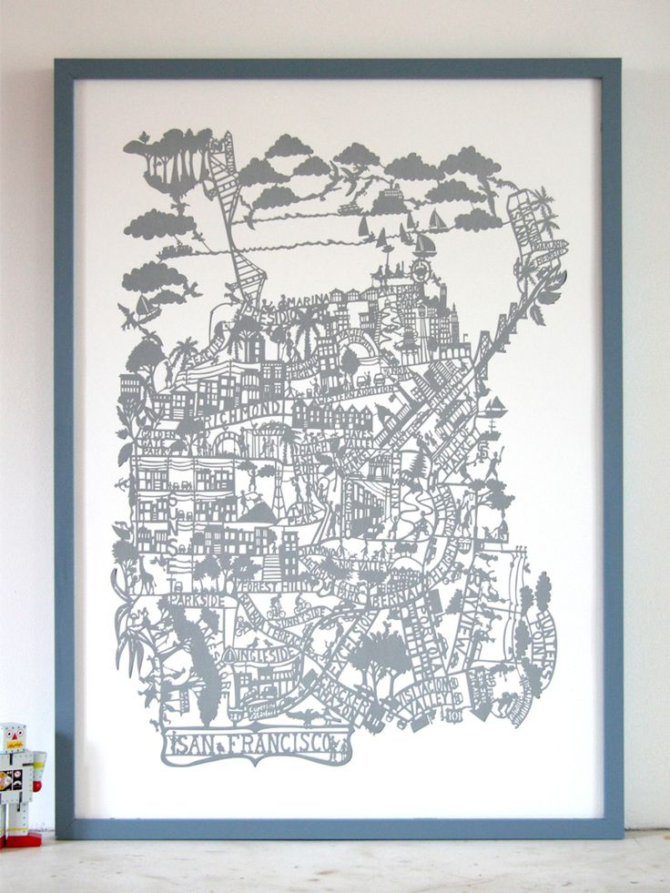 San Francisco Map I now own this