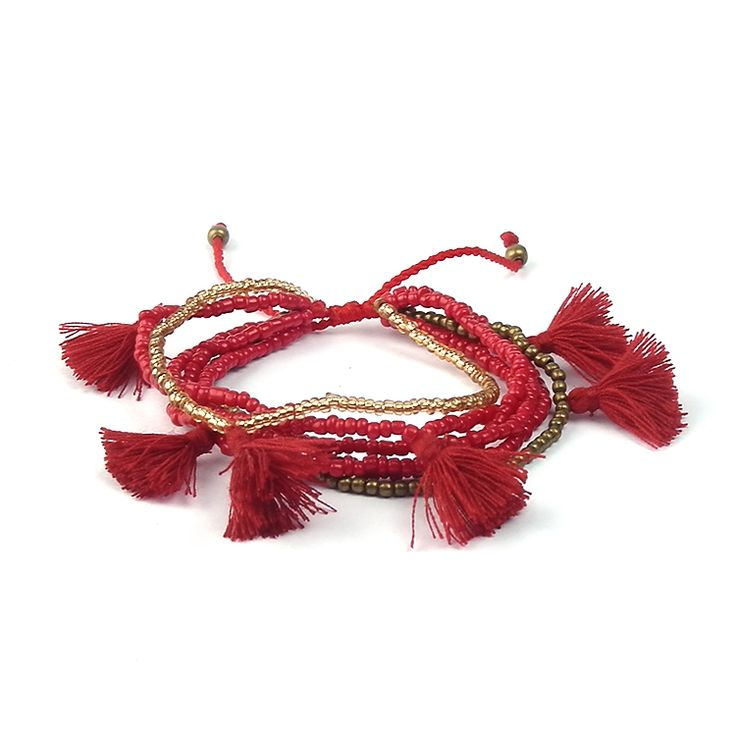 Vintage Tassels Rice Beads Bracelet //Price: $9.95 & FREE Shipping //     {#ethnic #fashion #style #traditional |#indian #beautiful #unique| #love #shopping | #ethnicwear #etnik |#vintage #dress | #bohochic #indianwear| #art  #hippie |#beauty #fashion | #sale #design |#onlineshopping #accessories | #Indean #Japanese #african