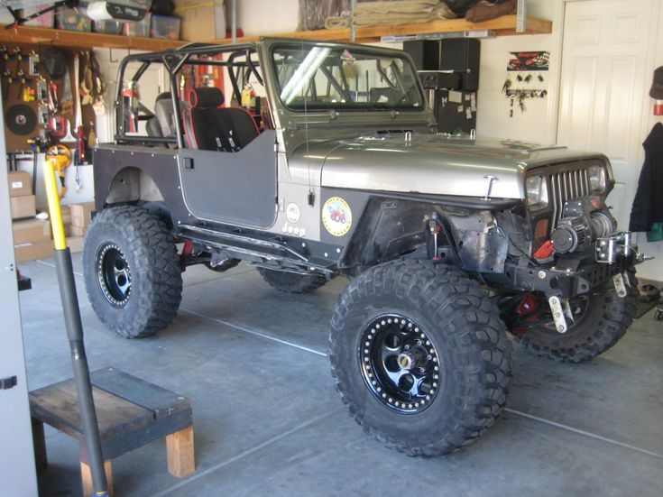 Jeep Yj Build Genright Style Yj Jeep Build Jeep