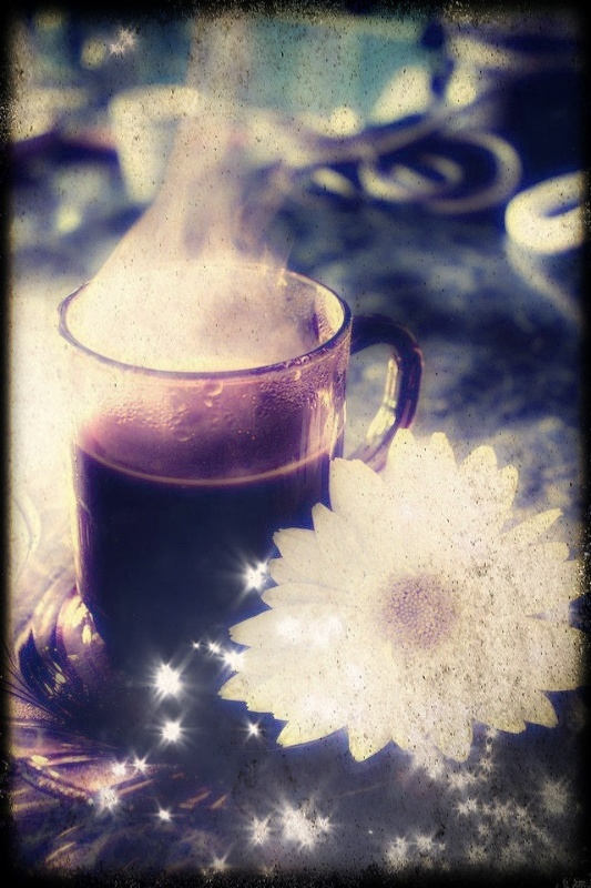 coffe and daisie