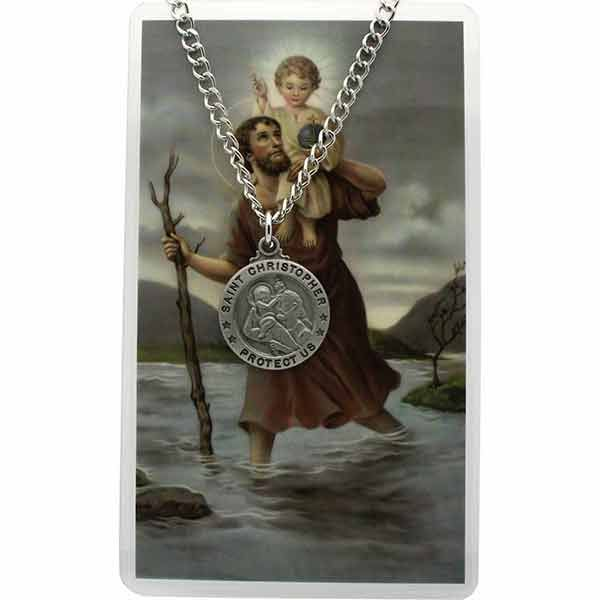 61 best images about saint christopher on pinterest silver necklaces enamels and yellow. Black Bedroom Furniture Sets. Home Design Ideas