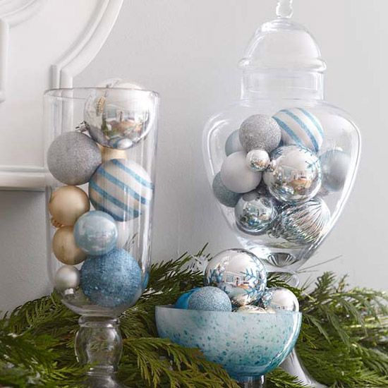Shiny Ways to Decorate with Ornaments Deck the halls, the tree -- your whole house -- with these creative ways to use ornaments, new and old...